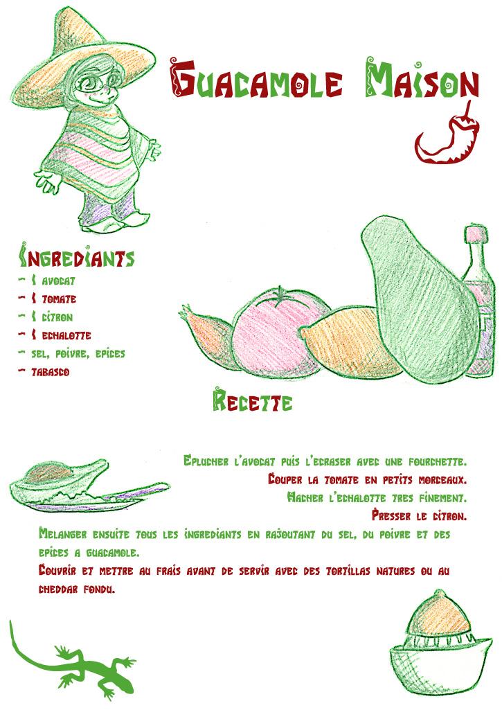 Recette De Cuisine Guacamole Maison Ssosodef Net